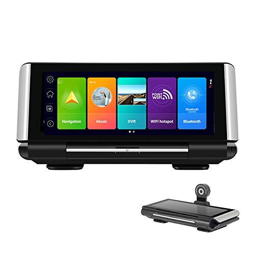 ShiZhen K7 4G Touch IPS Car Dashboard DVR Dash Cam Rear View Android 8.1 Mirror with WiFi GPS Navi ADAS Plus Bluetooth Music Dual Lens FHD 1080P Folding Appearance