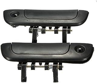 FeLiCia 6Pcs Set ABS Carbon 3 Maniglia della Porta Copre Maniglie per VW Transporter T5 T6 Caddy per Furgoni