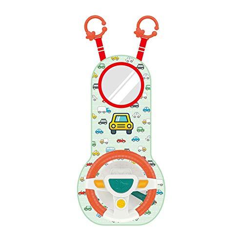 Review cuepar Baby Car Steering Wheel Car Rear Seat Steering Wheel Simulator Car Infant Toys for Chi...