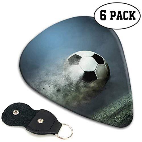 Beautiful Football Goals Guitar Pick Holder Disfraz Guitar Picks 6 Pack Heavy...
