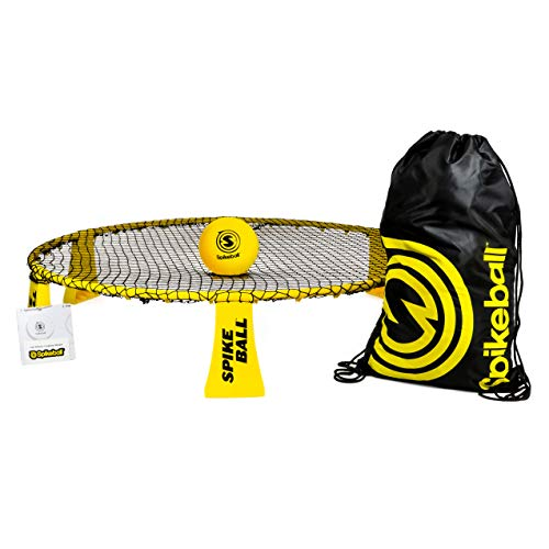 Spikeball Rookie Kit - 50% Larger Net and Ball - Played Outdoors, Indoors, Yard, Lawn, Beach - Designed for New Players