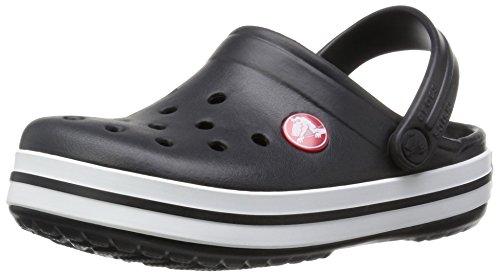 Crocs Kids' Crocband Clog | Slip On Shoes for Boys and Girls | Water Shoes, Black, 9 US Toddler