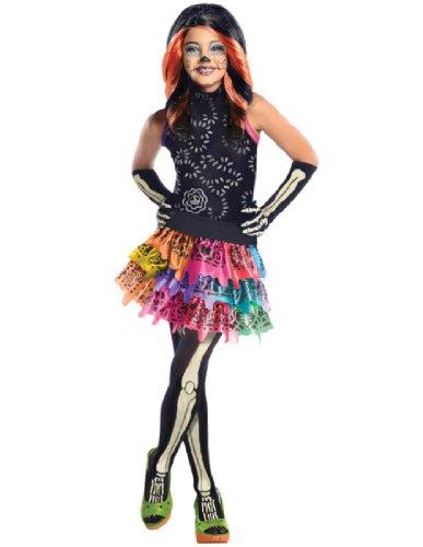 Generique - Skelita Calaveras Monster High-Kostüm für Mädchen