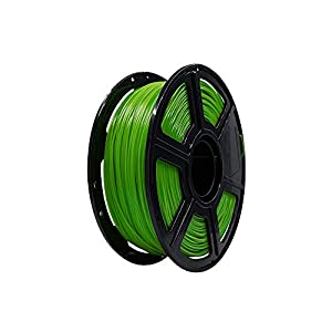 Flashforge PLA 1.75mm 3D Printer Filaments 1kg Spool-Dimensional Accuracy +/- 0.05mm for Finder and Creator Pro (Green)