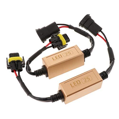 Homyl Phare Lampe Canbus Anti-Scintillement Résistance Décodeur LED 2X - H11