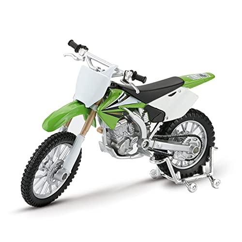 El Maquetas Coche Motocross Fantastico 1:18 para Kawasaki KX250F Mountain Cross Country Simulación Aleación Modelo Motocicleta Colección Decoración Regalo Coche Juguete Regalos Juegos Mas Vendidos