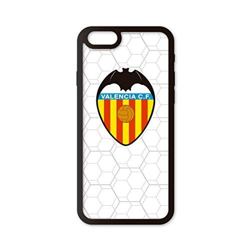 PHONECASES3D Funda móvil Compatible con iPhone 6/Compatible con iPhone 6s Valencia CF Escudo. Carcasa de TPUde Alta protección. Funda...