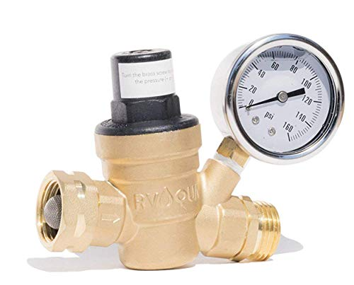 RVAQUA M11-45PSI RV Water Pressure Regulator
