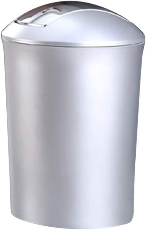 MQH Max 45% OFF Dallas Mall Small Trash Can Large Creative Swing and Lid
