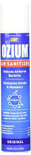 OZIUM Air Sanitizer, Cleans the Air You Breath, 3.5 oz, Original (1)