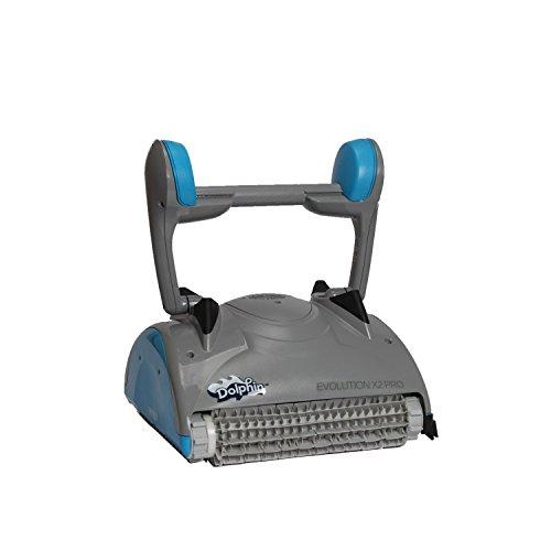 08087Pool Robot Dolphin Evolution X2Pro con cepillos de PVC