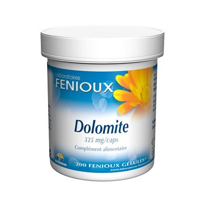 Fenioux Dolomita 325Mg. 200Cap 1 Unidad 200 g