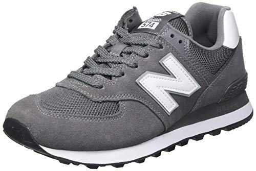 New Balance Herren 574 Core Plus Pack Sneaker, Grau (Castlerock), 43 EU