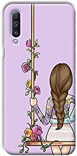 girl back cover for Samsung A70