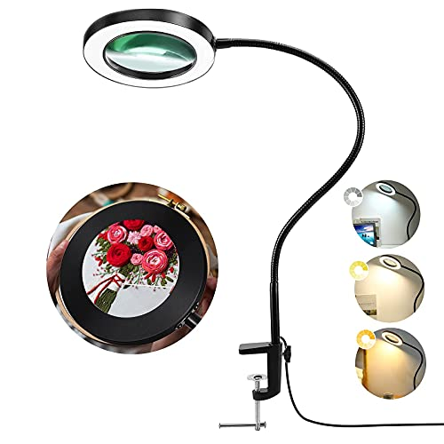 Best bench magnifier with light