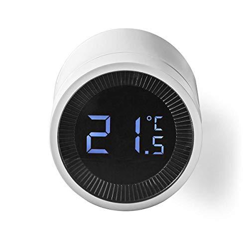 NEDIS Control de Radiador Control Inteligente del radiador de ZigBee Blanco