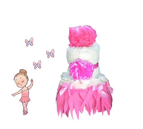 Windeltorte Mädchen | Prima Ballerina