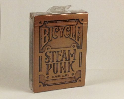 Bicycle Steam Punk Playing Cards by Bicycle