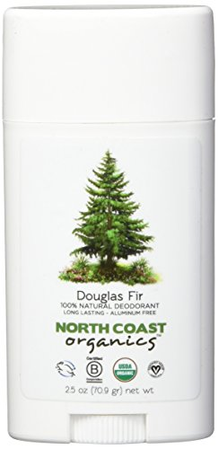 NORTH COAST ORGANICS Douglas Fir Organic Deodorant, 0.02 Pound