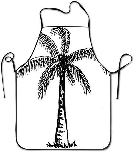 Pag Crane Baum Clipart schwarz weiß Kochschürze Küchenschürze, wasserdicht haltbar pflegeleicht Schürzen