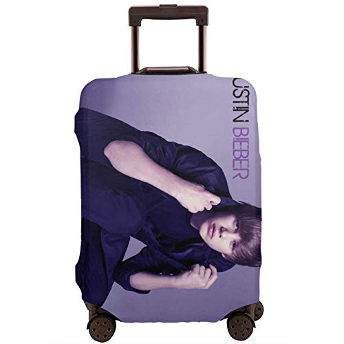 Jus-Tin Bie-Ber Custom Travel Luggage Cover,Suitcase Protector Washable Baggage Covers 18-32 Inch