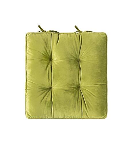 TYHZ Cojines Para Sillas Cojín de asiento de la almohadilla de silla, vínculos de longitud completa para soporte antideslizante, duradero, comodidad superior y suavidad, reduce la presión, lavable, 18
