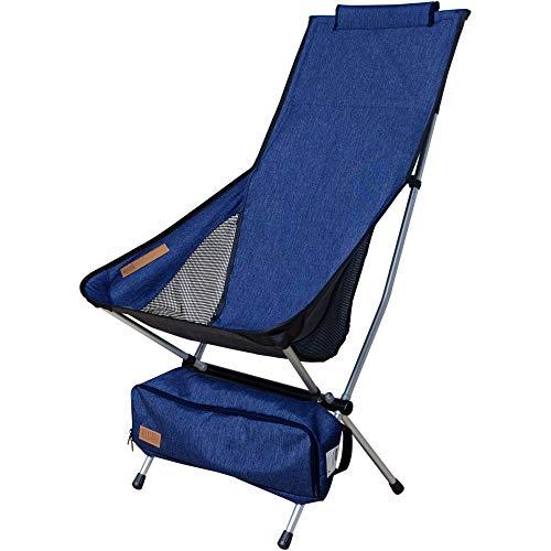 Nigor Kingfisher - Silla de camping, color azul oscuro