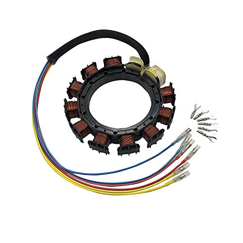 JETUNIT Genuine outboard 9 amp Stator Assy Maganet Coil For Mercury 30-85hp 3/&4 cylinder 398-5454 A21 A22 A24 A25 A26 174-5454K1