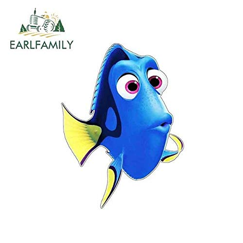 JYIP 13cm x 9.7cm For Dory Finding Nemo Vinyl Graphic Decal Repair Sticker Creative Stickers Suitable For GTR EVO style A