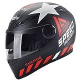 Casco moto integrale adulto, casco antifogging moto antivento unisex con scaldacollo estraibile,...