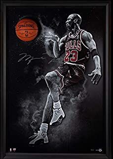d926e3c91141 Michael Jordan Hand Signed Autographed NBA Basketball Bulls Break Thru UDA  2 123