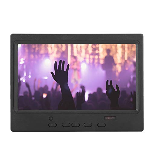 Why Should You Buy V BESTLIFE 7 Inch 1024x600 Portable Monitor Multi-Function Display Support HDMI/V...
