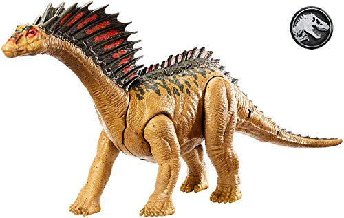 Mattel GFH09 - Jurassic World Dino Rivals Mega Doppel-Attacke Amargasurus