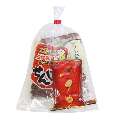 広島名物!せんじ肉入りおつまみお菓子袋詰め B 詰め合わせ 駄菓子 おかしのマーチ