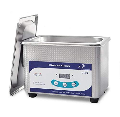 FengJ 800ML Limpiador ultrasónico con Temporizador Digital, para Limpiar Joyas Gafas Dentaduras...