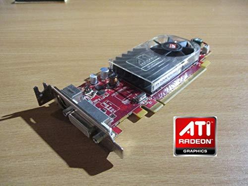 AMD Radeon HD3450 - Tarjeta gráfica de vídeo (256 MB, DDR2 PCIe DMS59 SVideo Low Profile)