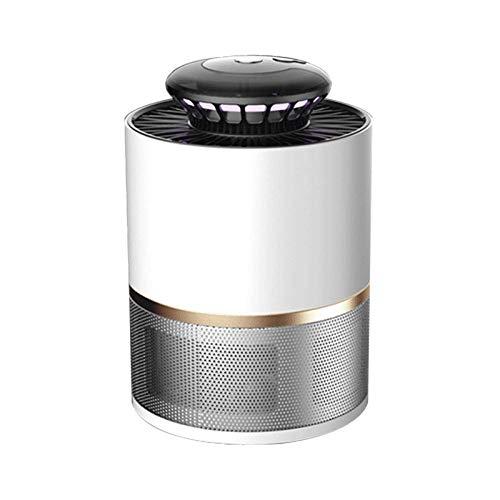 Powzz ornament Lámpara antimosquitos para interior, catalizador de fotocatalizador electrónico para matar mosquitos, color blanco