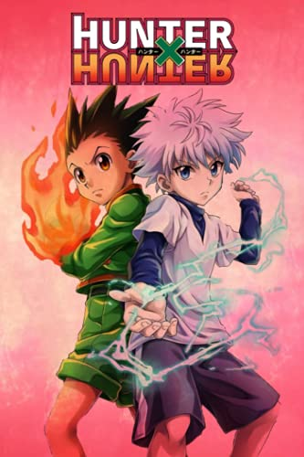 Hunter x Hunter Notebook: Lined Pages Notebook Small Size 6x9 inches / 110 pages / Original Design For Cover And Pages / It Can Be Used As A Notebook, Journal, Diary, or Composition Book.