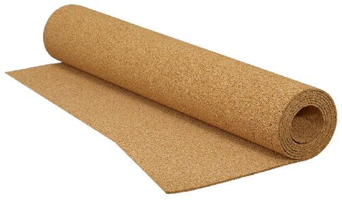 QEP 200 sq. ft. 48 in. x 50 ft. x 1/8 in. Cork Underlayment Roll by QEP