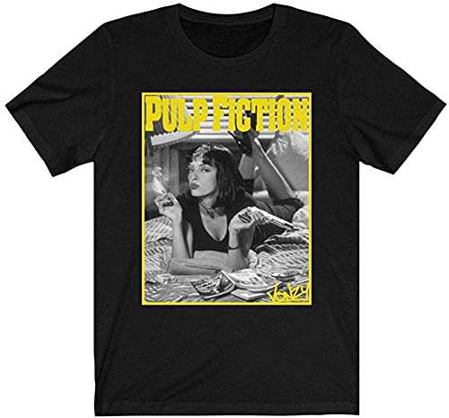 Pulp Fiction Retro Movie T Shirt Gift Tee for Men Women Unisex T-Shirt Unisex T-Shirt
