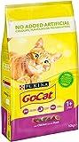 GO-CAT - Alimenti per gatti secchi per pollo e anatra, 10 kg