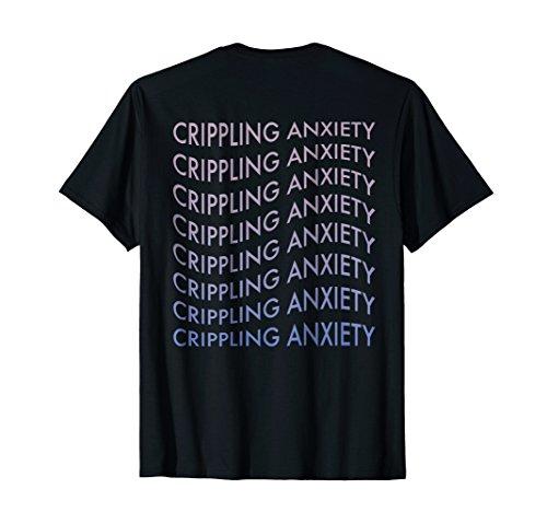Vaporwave Sad Boys 'Crippling Anxiety' Depression T-Shirt