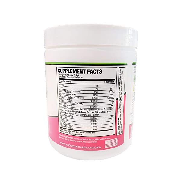Health Shopping D2Fit (by Jessica Bass) Women's Pre Workout Multi Collagen