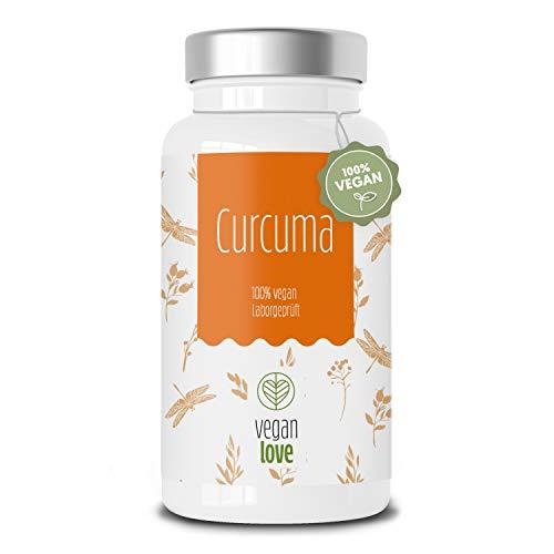 Kurkuma (Curcuma) Extrakt hochdosiert - Curcumingehalt (Curcuminoid) einer Kapsel entspricht dem von ca. 15000mg Kurkuma - 80% höhere Bioverfügbarkeit & Verträglichkeit – 2 Monatsvorrat