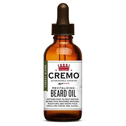 Price comparison product image Cremo Beard Oil,  Forest Blend - Restores Moisture,  Softens And Reduces Beard Itch for All Lengths Of Facial Hair,  1 Ounce