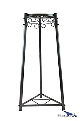 """Bluewave 2-Step Floor Metal Stand - 32"""" Inch Metal from Bluewave Lifestyle®"""