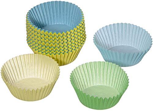 Dr. Oetker Papier-Backförmchen, Bunte Muffinförmchen aus Papier, Förmchen für Cupcakes, Muffins und Pudding - hitzebeständig bis 220°C (Menge: 150 Stück)