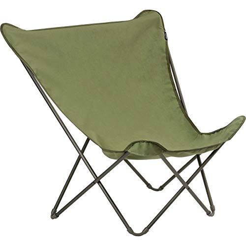 Lafuma D&S Vert - Silla Plegable (tamaño XL), diseño de Mariposas, Color...