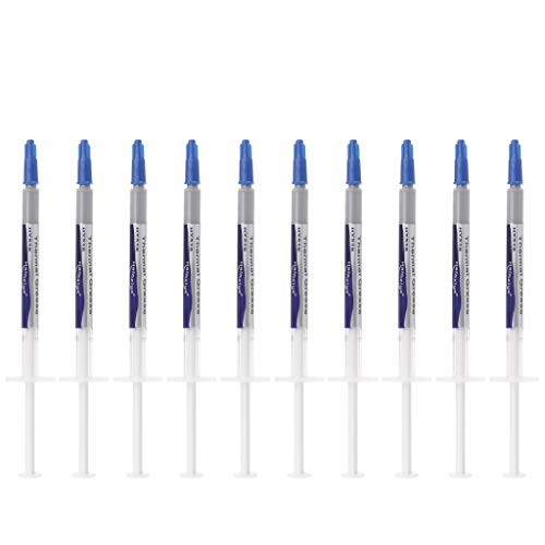 luosh Wärmeleitpaste, 10 Stück/Set HY510 Compound Silikon Kühlkörper Kühlung für CPU-Kühler Drucker Kühlkörper Andere Geräte