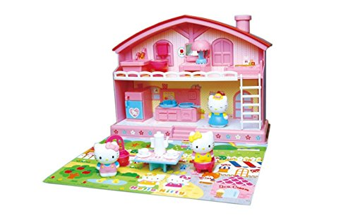 Hello Kitty Sanrio Japan Play House Set  Good Friend House